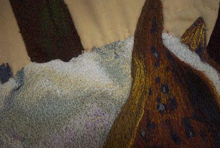 Fiber art - Land of Cotton